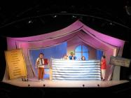 Photograph from All Join In - lighting design by Chris Barham