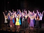 Photograph from Bridge Theatre Co Graduate Showcase - lighting design by Chris Barham