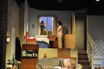 Photograph from The Rise and Fall of Little Voice - lighting design by Michael Dobbs
