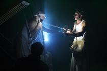 Photograph from Finding  Home(r) - lighting design by Chris Gatt