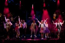 Photograph from Cool Rider - lighting design by Charlie Morgan Jones