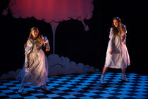 Photograph from That Catherine Bennett Show - lighting design by Marty Langthorne