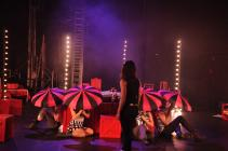 Photograph from Alice in Wonderland - lighting design by Charlie Morgan Jones