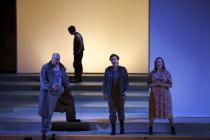 Photograph from Fidelio - lighting design by Charlie Morgan Jones