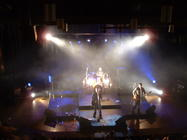 Photograph from Young band showcase - lighting design by Pete Watts