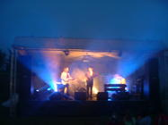 Photograph from Droitwich Music Festerval - lighting design by Pete Watts