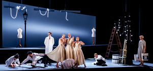 Photograph from Cendrillon - lighting design by Jake Wiltshire