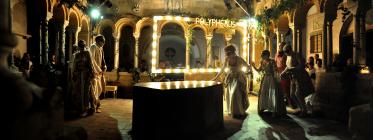 Photograph from Acis and Galatea - lighting design by Charlie Lucas