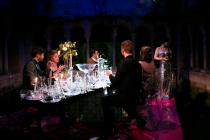 Photograph from La Traviata - lighting design by Charlie Lucas