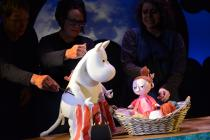 Photograph from Moomin Summer Madness - lighting design by Will Evans
