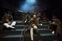 Photograph from Oh What A Lovely War! - lighting design by Ian Saunders