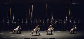 Photograph from Concert Danse - lighting design by Pete Watts