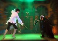 Photograph from Dick Whittington - lighting design by Eric Lund