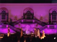Photograph from The Importance of Being Earnest - lighting design by Eric Lund