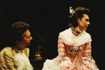 Photograph from Les Liaisons Dangereuses - lighting design by Eric Lund