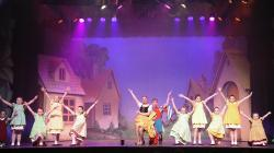 Photograph from Jack and the Beanstalk - lighting design by Eric Lund