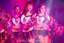 "Photograph from The Ladyboys of Bangkok ""Forever Yours"" - lighting design by Matt Ladkin"