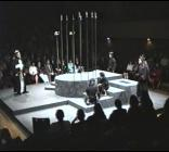 Photograph from Macbeth - lighting design by Eric Lund