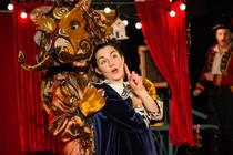 Photograph from Corina Pavlova and the Lion's Roar - lighting design by Katy Morison