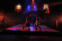 Photograph from Les Miserables - lighting design by Ian Saunders