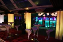 Photograph from Custom Covers Showman Show 2014 - lighting design by Andy Webb