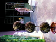 Photograph from The Marriage of Figaro - lighting design by Pete Watts
