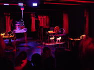 Photograph from The Assembly of Animals - lighting design by Marty Langthorne