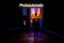 Photograph from The Worst of Scottee - lighting design by Marty Langthorne