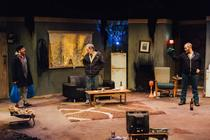 Photograph from As The Tide Ebbs - lighting design by James McFetridge