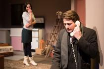 Photograph from Barefoot in the Park - lighting design by Peter Vincent