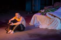 Photograph from Yen - lighting design by Elliot Griggs