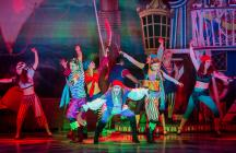 Photograph from Dick Whittington - lighting design by Andy Webb