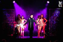 Photograph from The Ladyboys of Bangkok - ''Beauties and The Beats'' - lighting design by Matt Ladkin