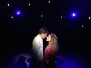 Photograph from Weird Weather - lighting design by Martin McLachlan