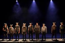 Photograph from Bloody Girls - lighting design by Laura Hawkins