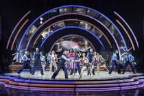 Photograph from Strictly Come Dancing Arena Tour - lighting design by Richard Jones