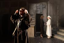 Photograph from Measure for Measure - lighting design by Theo Farringdon