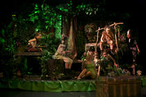 Photograph from Peter Pan - lighting design by Wally Eastland