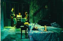 Photograph from THE GLASS MENAGERIE - lighting design by Wally Eastland
