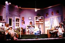 Photograph from Steel Magnolias - lighting design by Wally Eastland