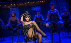 Photograph from Cabaret - lighting design by James McFetridge