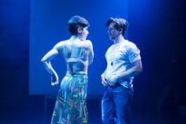 Photograph from Great Apes - lighting design by Matthew Haskins