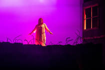 Photograph from Macbeth - lighting design by Wally Eastland