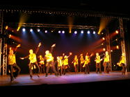 Photograph from Rythm is a Dancer - lighting design by Pete Watts