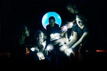 Photograph from Kirana - lighting design by Chris Gatt