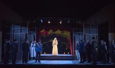 Photograph from La Cenerentola - lighting design by Matthew Haskins