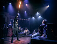 Photograph from Zorro The Musical - lighting design by Matthew Haskins