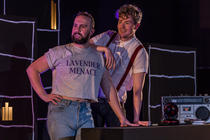 Photograph from Love Song to Lavender Menace - lighting design by Laura Hawkins