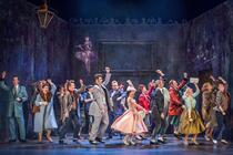 Photograph from Don Giovanni - lighting design by Matthew Haskins