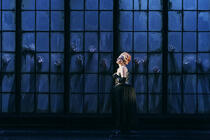 Photograph from Roberto Devereux - lighting design by Matthew Haskins
